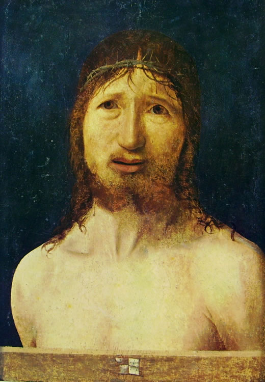 Antonello da Messina: Ecce homo (di New York)