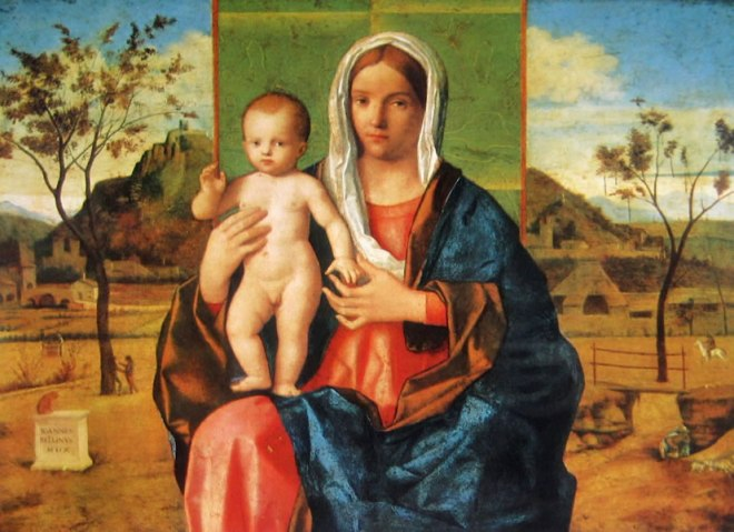 Giovanni Bellini: Madonna col bambino benedicente