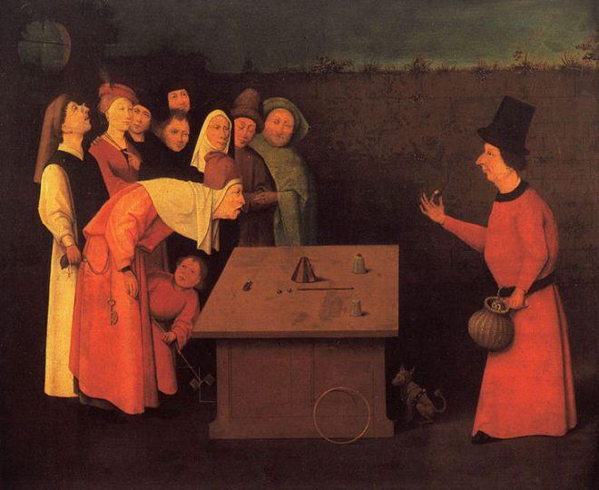 Hieronymus Bosch: Il prestigiatore