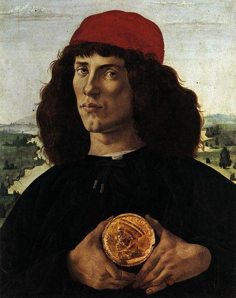 Ritratto d'uomo con la medaglia di Cosimo il Vecchio