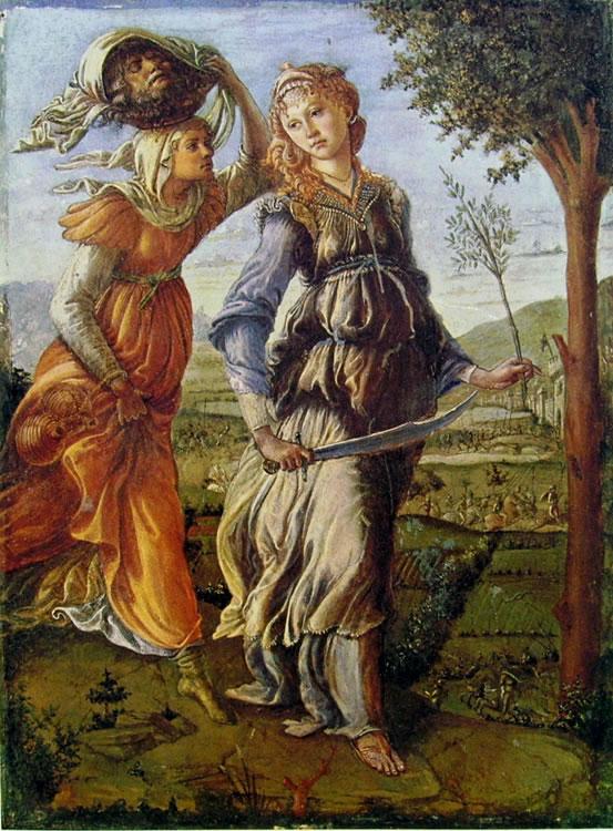 Il Botticelli: Il ritorno di Giuditta a Betulia