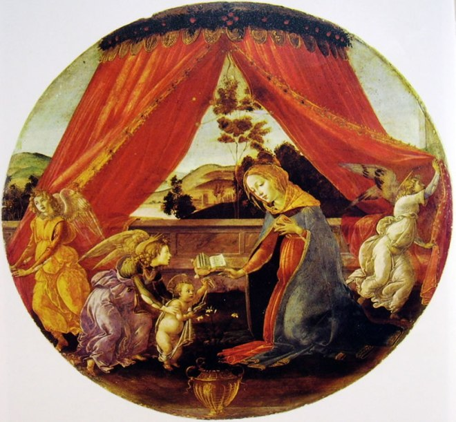 Il Botticelli: Madonna del Padiglione