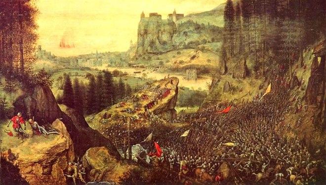 Pieter Bruegel: Il suicidio di Saul