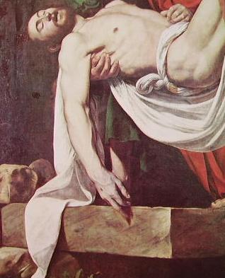 Particolare del Cristo deposto