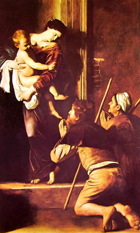 Il Caravaggio: La Madonna di Loreto