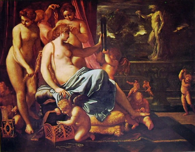 Annibale Carracci: Toeletta di Venere