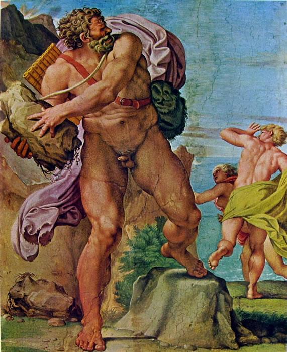 Annibale Carracci: La Galleria Farnese: Polifemo e Aci