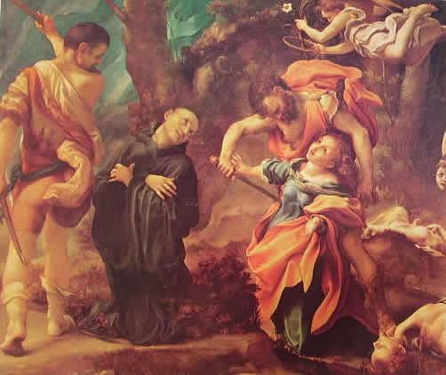 Correggio - Il martirio dei quattro Santi