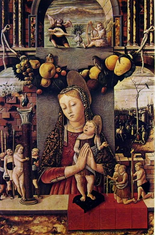 Carlo Crivelli: Madonna della Passione