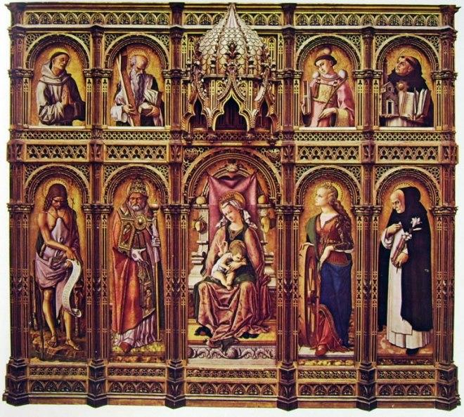 Carlo Crivelli: Il polittico di San Domenico