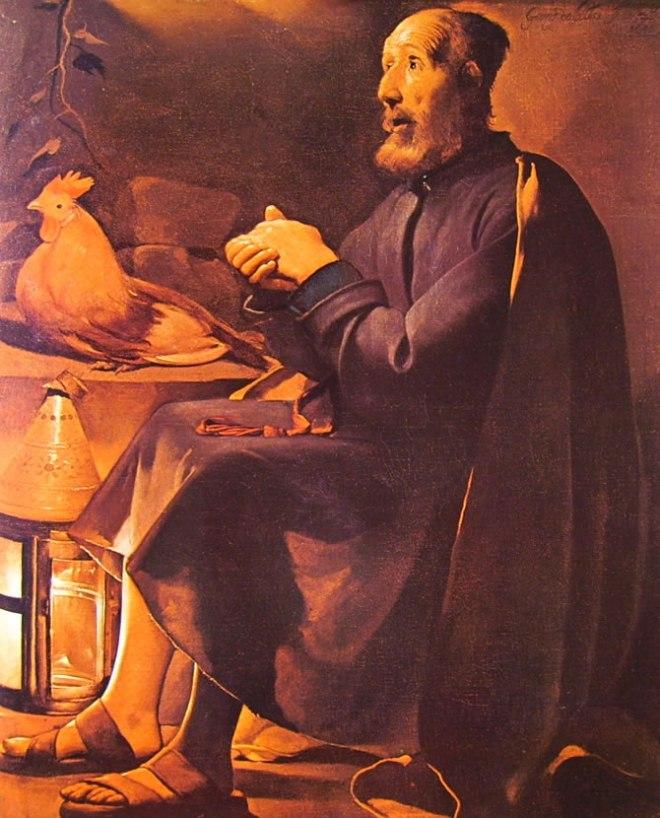 Georges de La Tour: Il pentimento di San Pietro