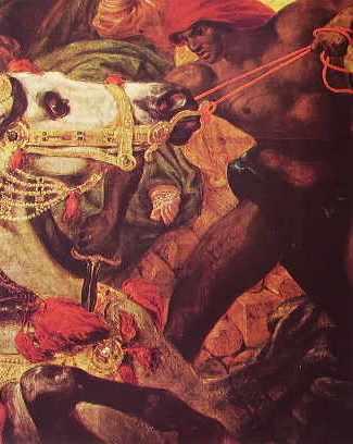particolare 2 Delacroix-la morte di sardanapalo