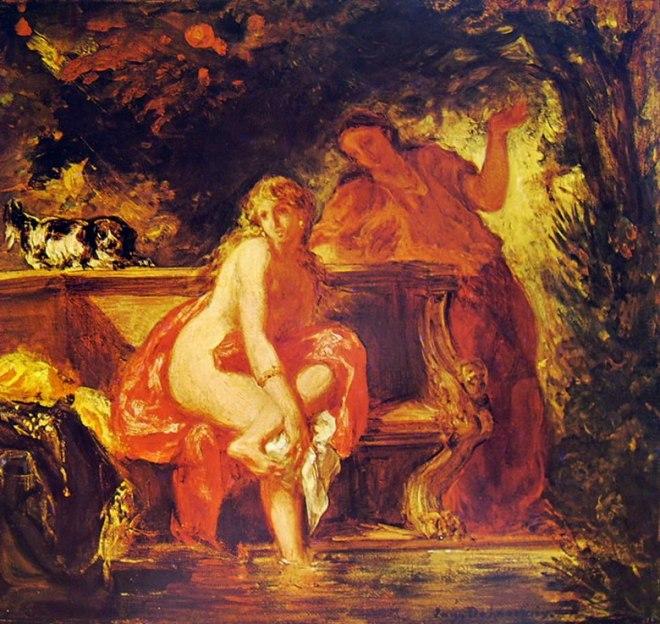 Eugène Delacroix: Susanna al bagno