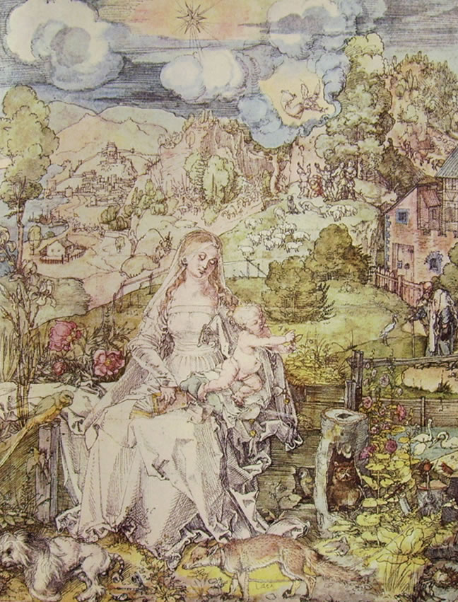 Albrecht Dürer: Madonna degli animali