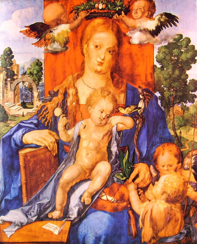 Albrecht Dürer: Madonna del Lucherino