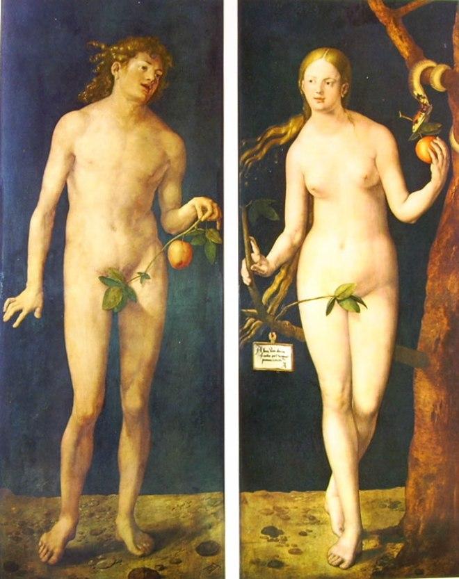Albrecht Dürer: Adamo ed Eva