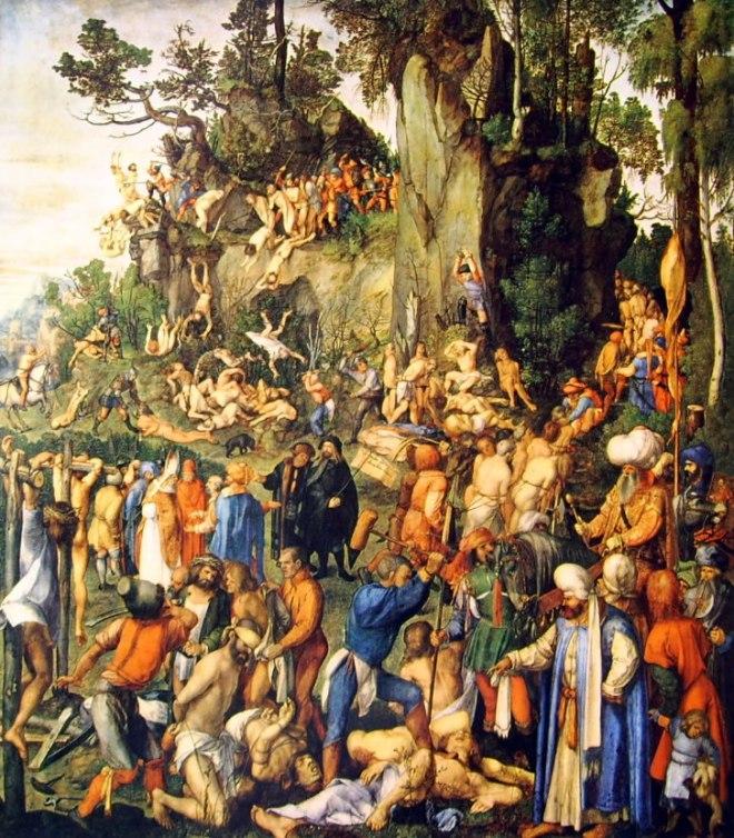 Albrecht Dürer: Il martirio dei diecimila