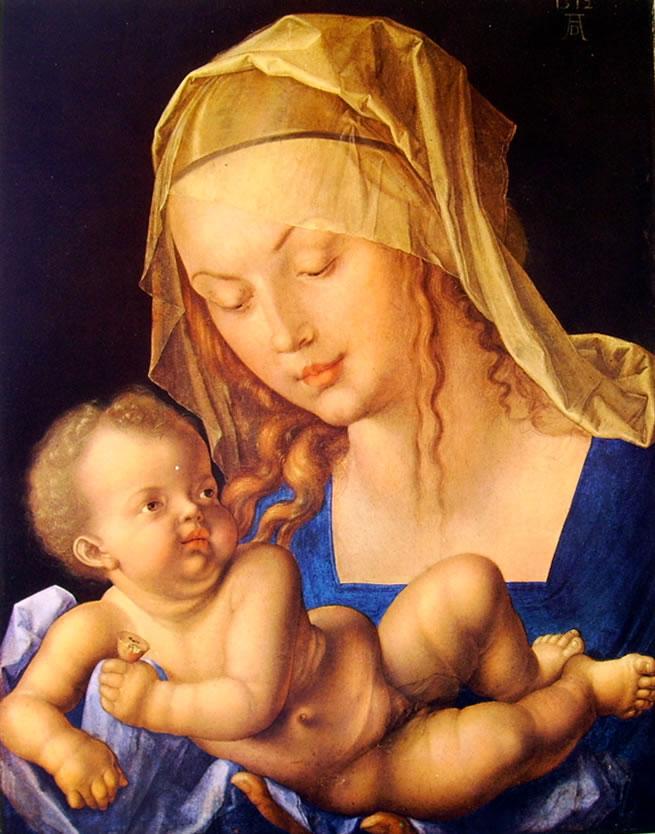 Albrecht Dürer: Madonna col Bambino (di Vienna)