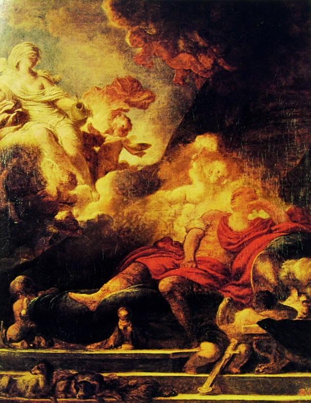 Jean-Honoré Fragonard: Il sogno del guerriero