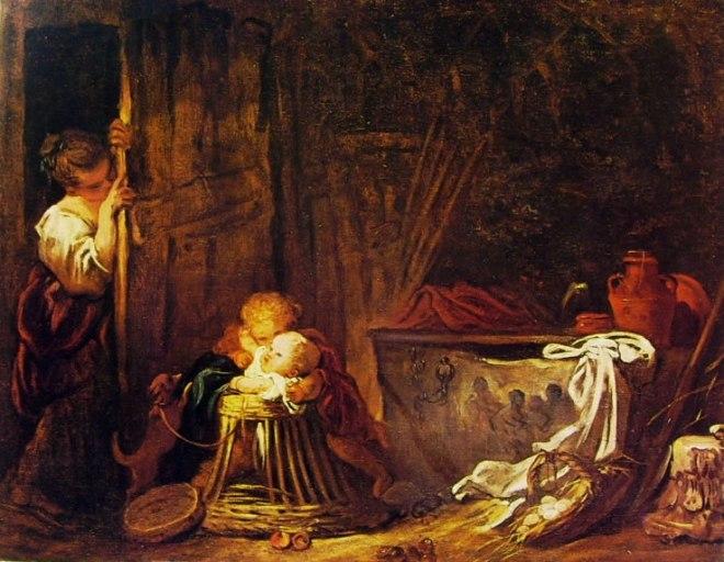 Jean-Honoré Fragonard: Il gioco a nascondino
