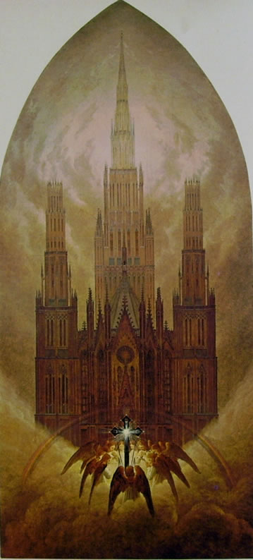 Caspar David Friedrich: La Cattedrale