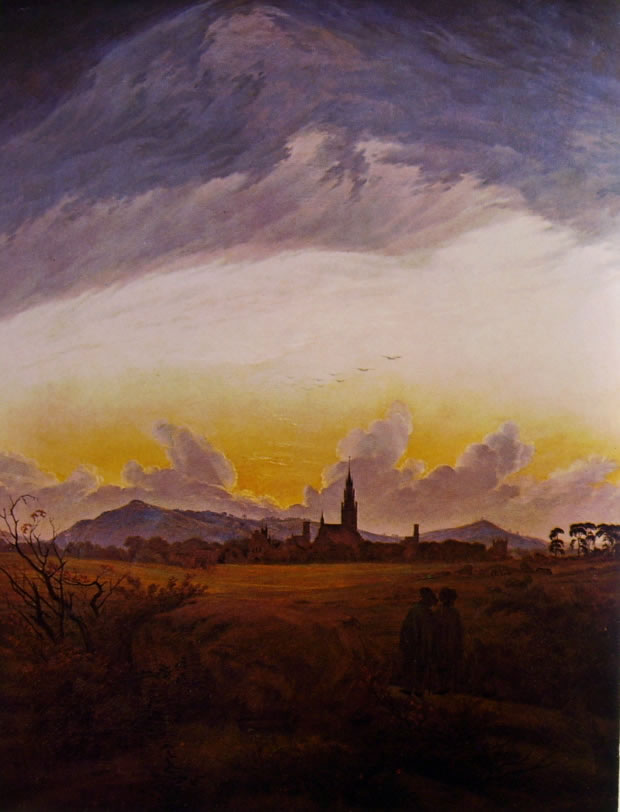 Caspar David Friedrich: Neubrandenburg