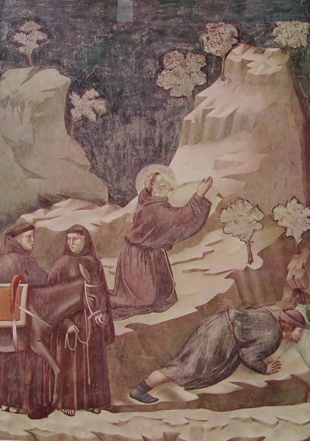 Giotto: Il miracolo della fonte