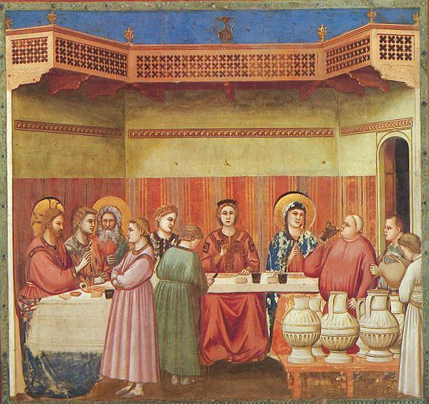 Giotto: Le nozze di Cana