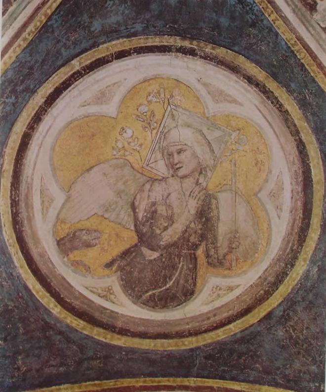 """Giotto: """"Allegoria della castità"""
