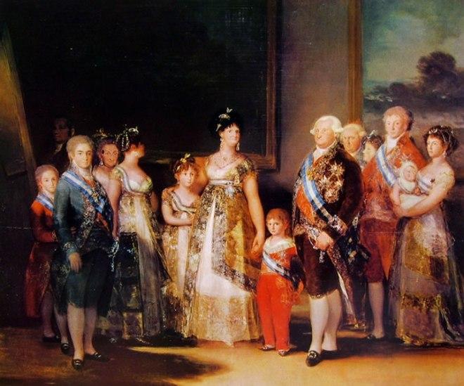 Goya - La famiglia di Carlos IV
