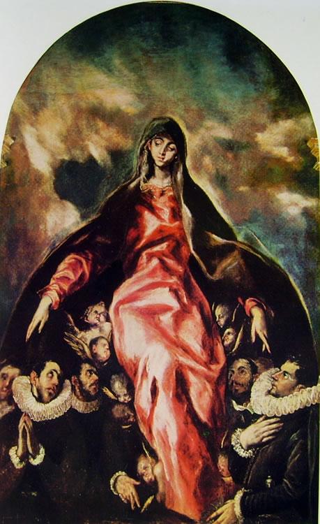 El Greco: Madonna della carità