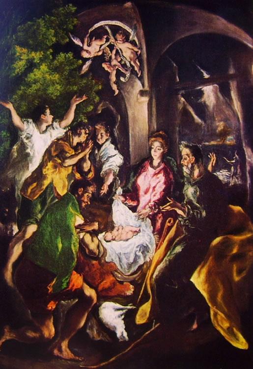 El Greco: L'adorazione dei pastori