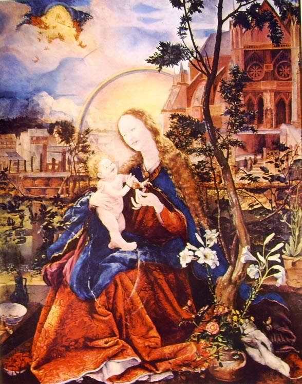 Matthias Grünewald: Madonna con il Bambino