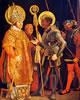 20 Grunewald - incontro dei Santi Erasmo e Maurizio
