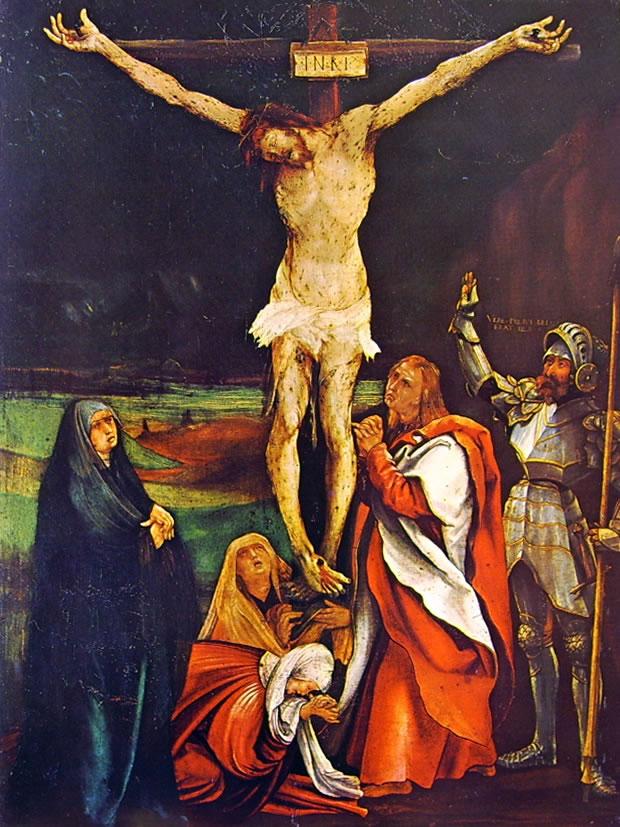 Matthias Grünewald: Crocifissione