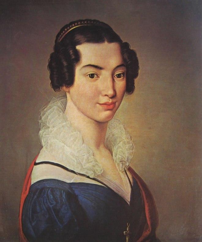 Hayez: Antonietta Vitali Sola