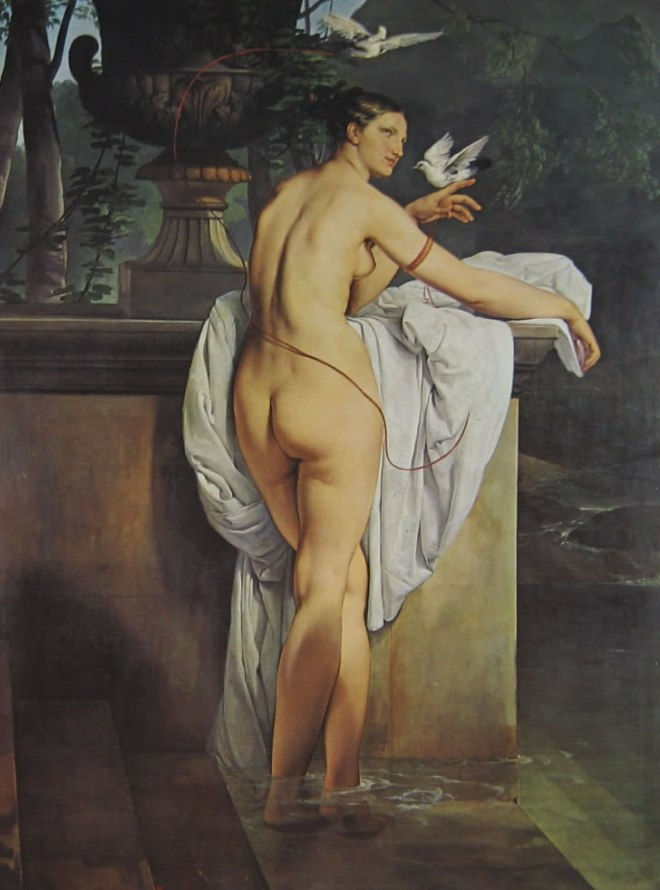 Hayez: Carlotta Chabert come Venere