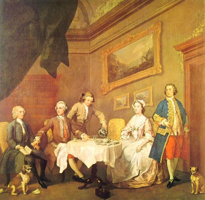 William Hogarth: La famiglia Strode