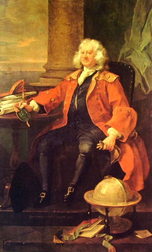William Hogarth: Ritratto del capitano Coram