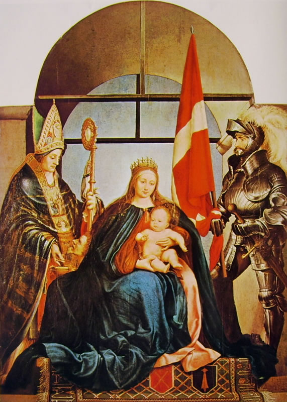 Hans Holbein il Giovane: Pala Gerster