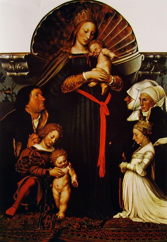 Hans Holbein il Giovane: Madonna del Borgomastro Meyer