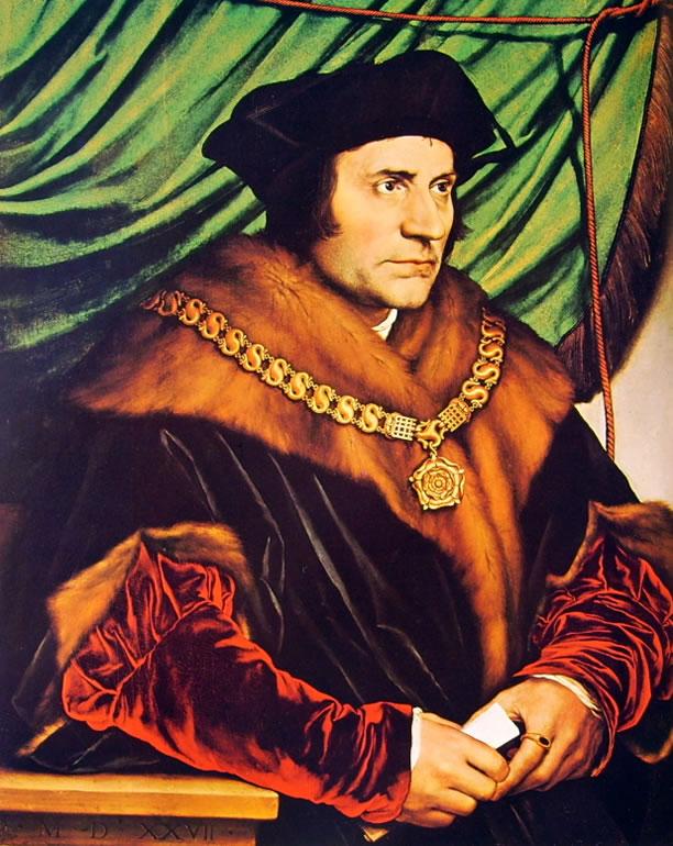 Hans Holbein il Giovane: Ritratto di Ritratto di Tommaso Moro