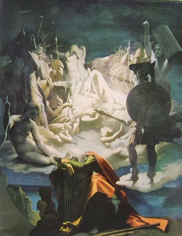 Jean-Auguste-Dominique Ingres: Il sogno di Ossian