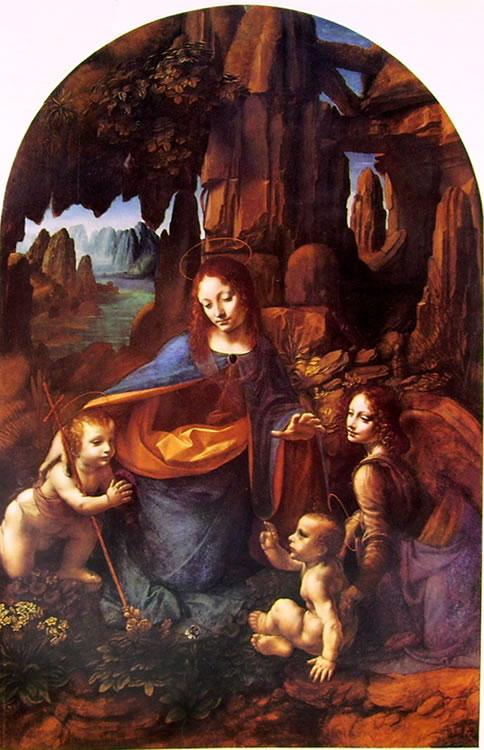 Leonardo: La Vergine delle rocce