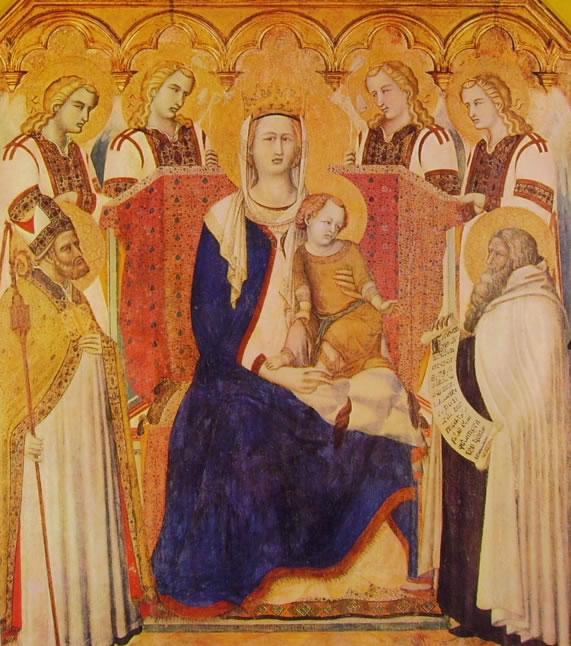 Pietro Lorenzetti: Madonna dei Carmelitani (Madonna del Carmine)