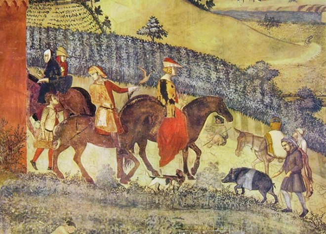 Ambrogio Lorenzetti: La campagna ben governata