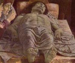 Cristo morto, Milano Pinacoteca di Brera