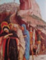 Mantegna - Predella pala di San Zeno - crocifissione