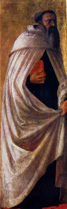 Masaccio: Polittico di Pisa: San Carmelitano