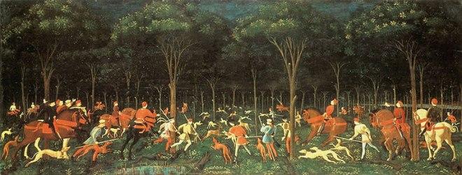 Paolo Uccello: La caccia